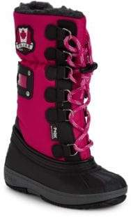 Camper Girl's Faux Fur Lined Boots