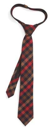Nordstrom Plaid Zip Tie