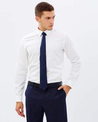 Brooksfield Textured Plain Shirt