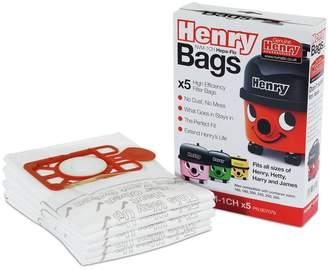Pack of 5 Genuine Henry Dust Bags