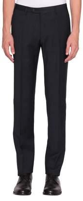 Corneliani Pinstriped Wool Trousers