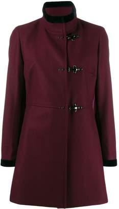 Fay velvet trim jacket