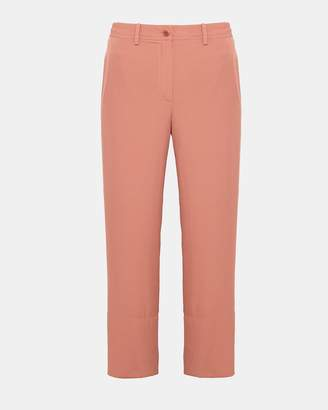Theory Silk Fluid Crop Pant