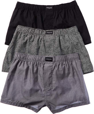 Kenneth Cole New York 3Pk Woven Boxer