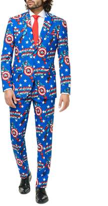 Opposuits Captain America 3-Piece Suit