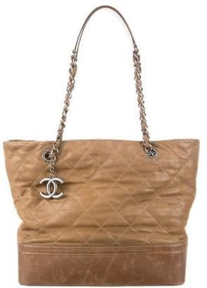 ab9103eb8d29 Chanel Brown Metallic Leather Handbags - ShopStyle
