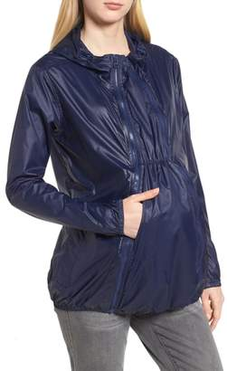 Modern Eternity Waterproof Convertible 3-in-1 Maternity Windbreaker