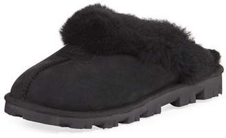 f2bd593093bf23 at Neiman Marcus · UGG Coquette Shearling Mule Slipper