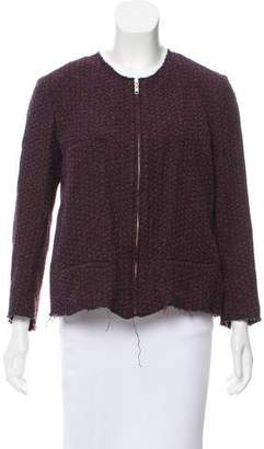 Etoile Isabel Marant Mélange Zip-Up Jacket