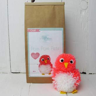 Hurley Sarah Pom Pom Pets Craft Kit Mrs Lovebird