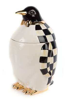 Mackenzie Childs Penguin Cookie Jar