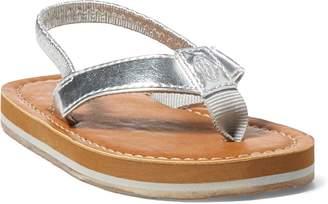 Ralph Lauren Lia Faux-Leather Sandal