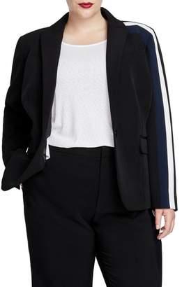Rachel Roy Darby Stripe Blazer