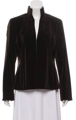Akris Structured Standing Collar Jacket
