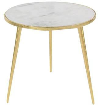 Cole & Grey Marble End Table Table Base