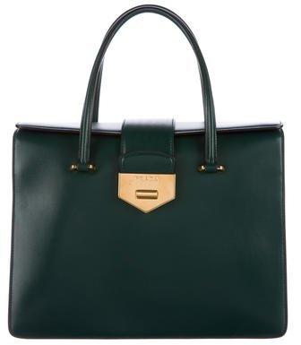 pradaPrada Box Calf Handle Bag