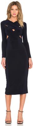 Norma Kamali KAMALIKULTURE X Cross Dress $150 thestylecure.com