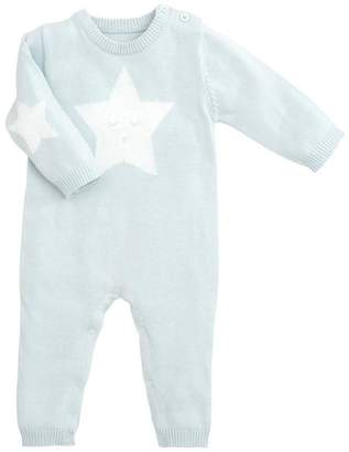 Elegant Baby Blue Star Jumpsuit
