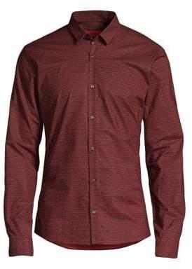 HUGO Numeric Woven Shirt