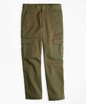 Brooks Brothers Boys Cargo Bedford Cords