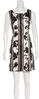 Marni Printed Sleeveless Mini Dress