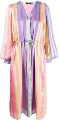 Stine Goya Violet striped midi dress