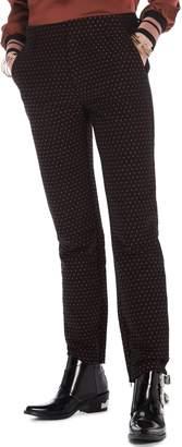 Scotch & Soda Starry Jacquard Tailored Stretch Pants