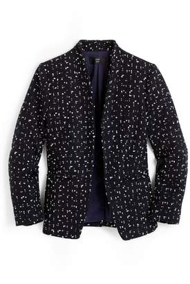 J.Crew Tweed Going-Out Blazer