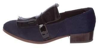 Billy Reid Ponyhair Kiltie Loafers