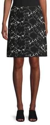 Context Floral A-Line Skirt