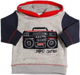 Little Marc Jacobs Boom Box Cotton Sweatshirt Hoodie
