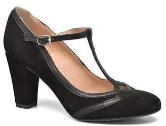 San Marina Women's Lacasa Strap High Heels in Black