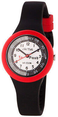 NEW Cactus Watches Time Trainer Black/Red