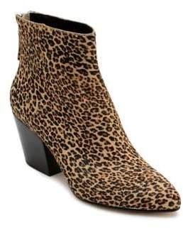 Dolce Vita Coltyn Leopard Print Calf Hair Booties