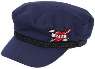 Karl Lagerfeld Captain Cotton Skipper Hat