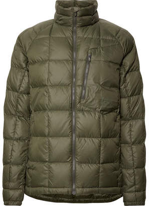 Burton ak] BK Insulator Quilted Pertex Quantum Down Jacket - Men - Army green