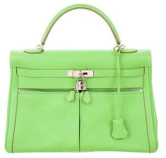 Hermes Green Top Zip Bags For Women - ShopStyle Australia 756ce555a02e0