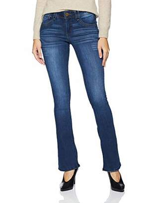 """Democracy Women's """"Ab""""Solution Itty Bitty Boot Jean Blue"""