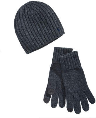 Polo Ralph Lauren Men's Hat & Glove Gift