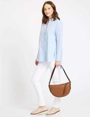 Marks and Spencer Faux Leather Shoulder Bag