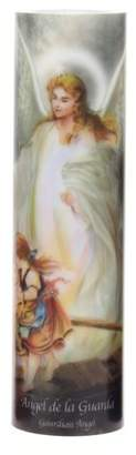 Inspirational Candles & Accessories LED Prayer Candle, Guardian Angel
