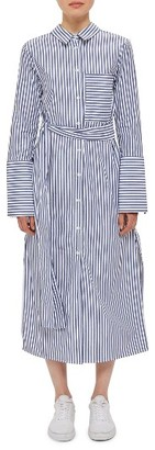 Women's Topshop Boutique Stripe Shirtdress $140 thestylecure.com