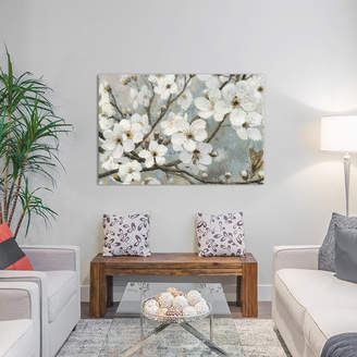 Alcott Hill Cherry Blossoms I Painting Print on Wrapped Canvas
