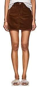 Frame Women's Le Mini Cotton Corduroy Skirt - Beige, Tan