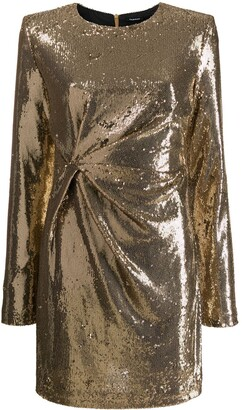 P.A.R.O.S.H. sequinned party dress