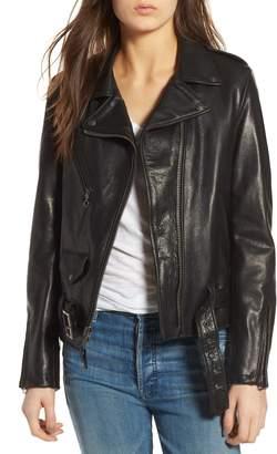 Schott NYC Lightweight Leather Jacket