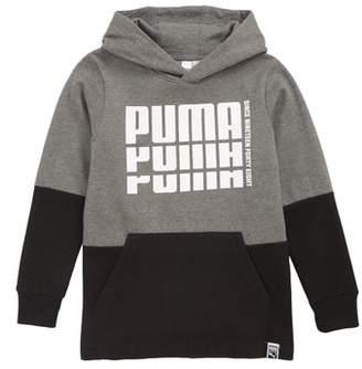 Puma Rebel Logo Colorblock Hoodie