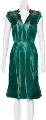 Zac Posen Silk-Blend Dress