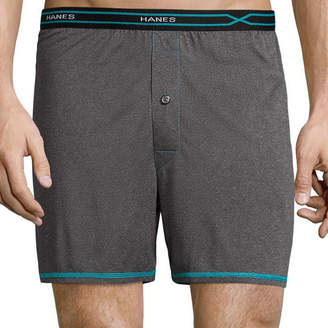 Hanes Men's X-Temp Performance FreshIQ Lightweight Boxer Brief