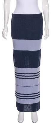 James Perse Striped Maxi Dress